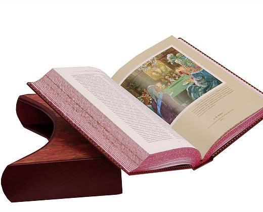 Библиотека великих писателей кожаный переплет