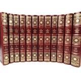 Толстой Л. Н. Собрание сочинений в 12 томах в подарочном,кожаном переплете.